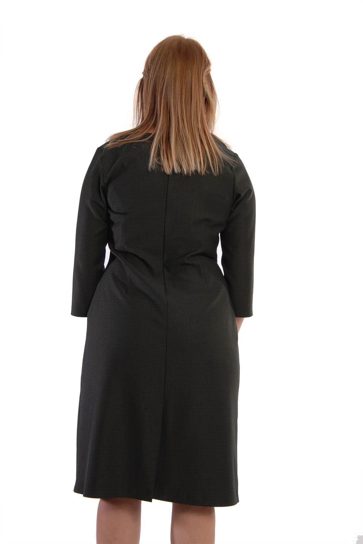 Belden Oturtma Pensli Elbise I4-65185