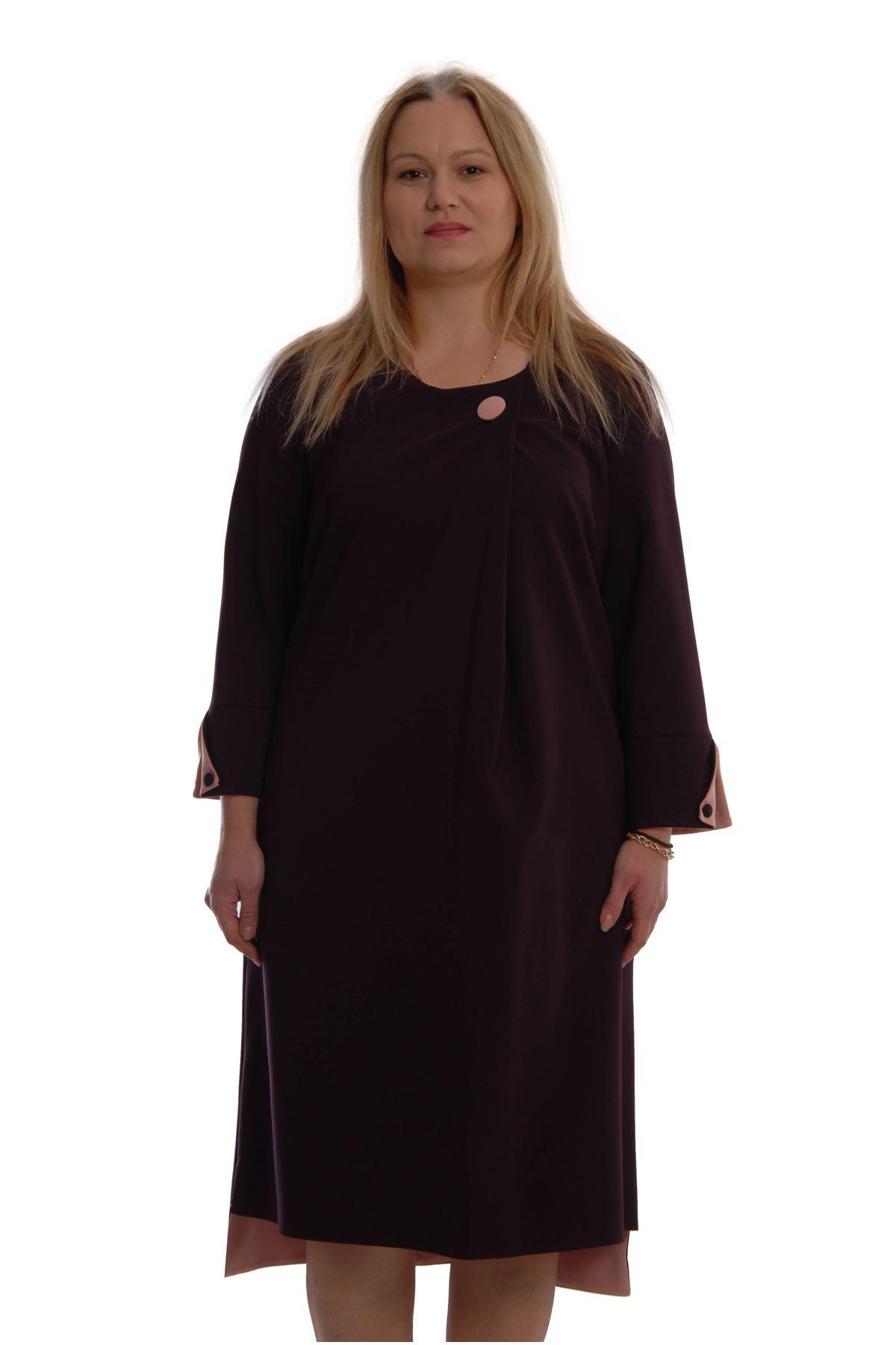 Esnek Şık Elbise K2-68843