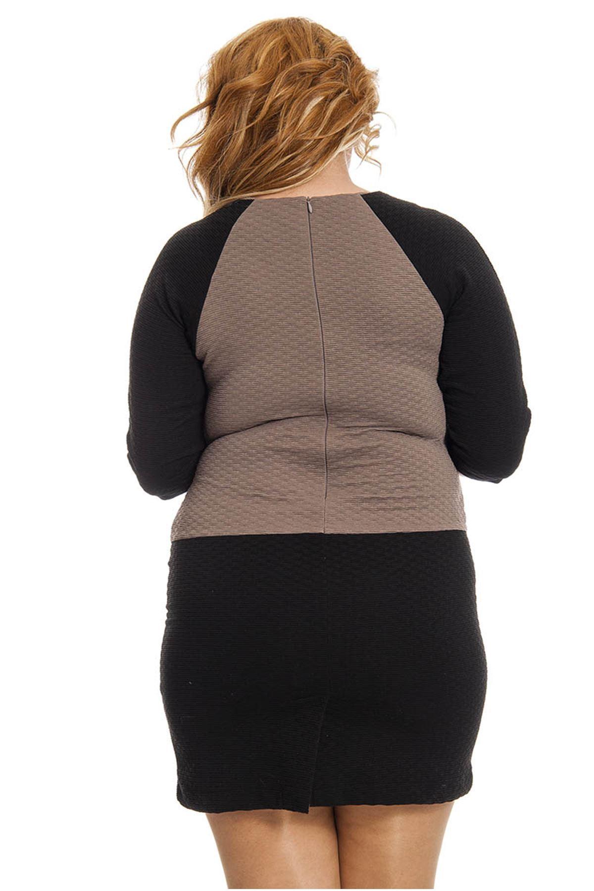 Fermuarlı Elbise I6-3363