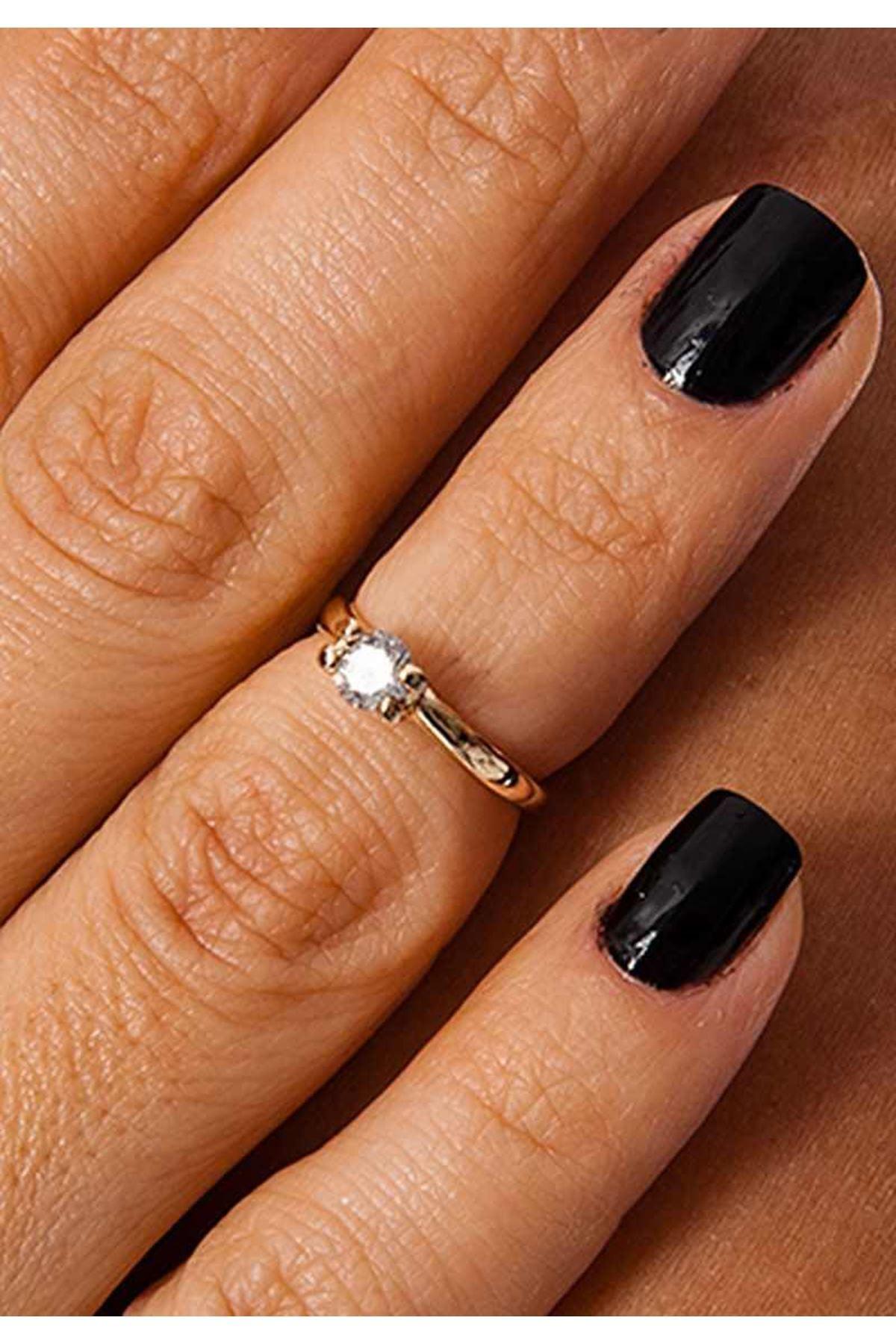 Gold Eklem Yüzüğü 2Ç-109114