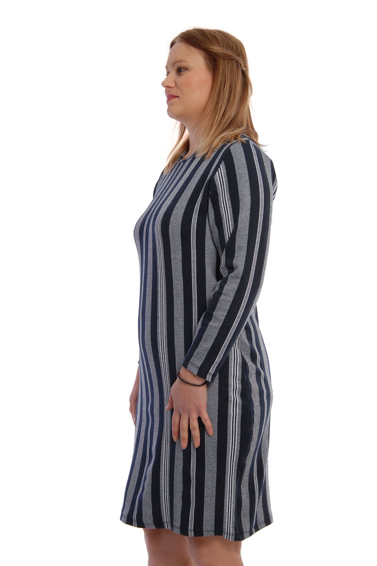 Kalın Esnek Elbise 6B-65418