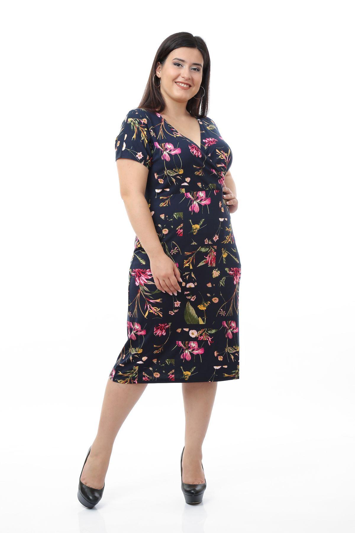 Kesit Desen Elbise 3D-0661