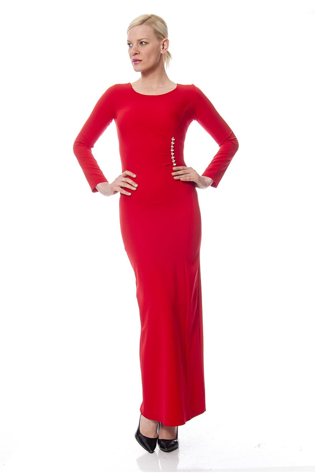 Kırmızı Elbise G1-1133884
