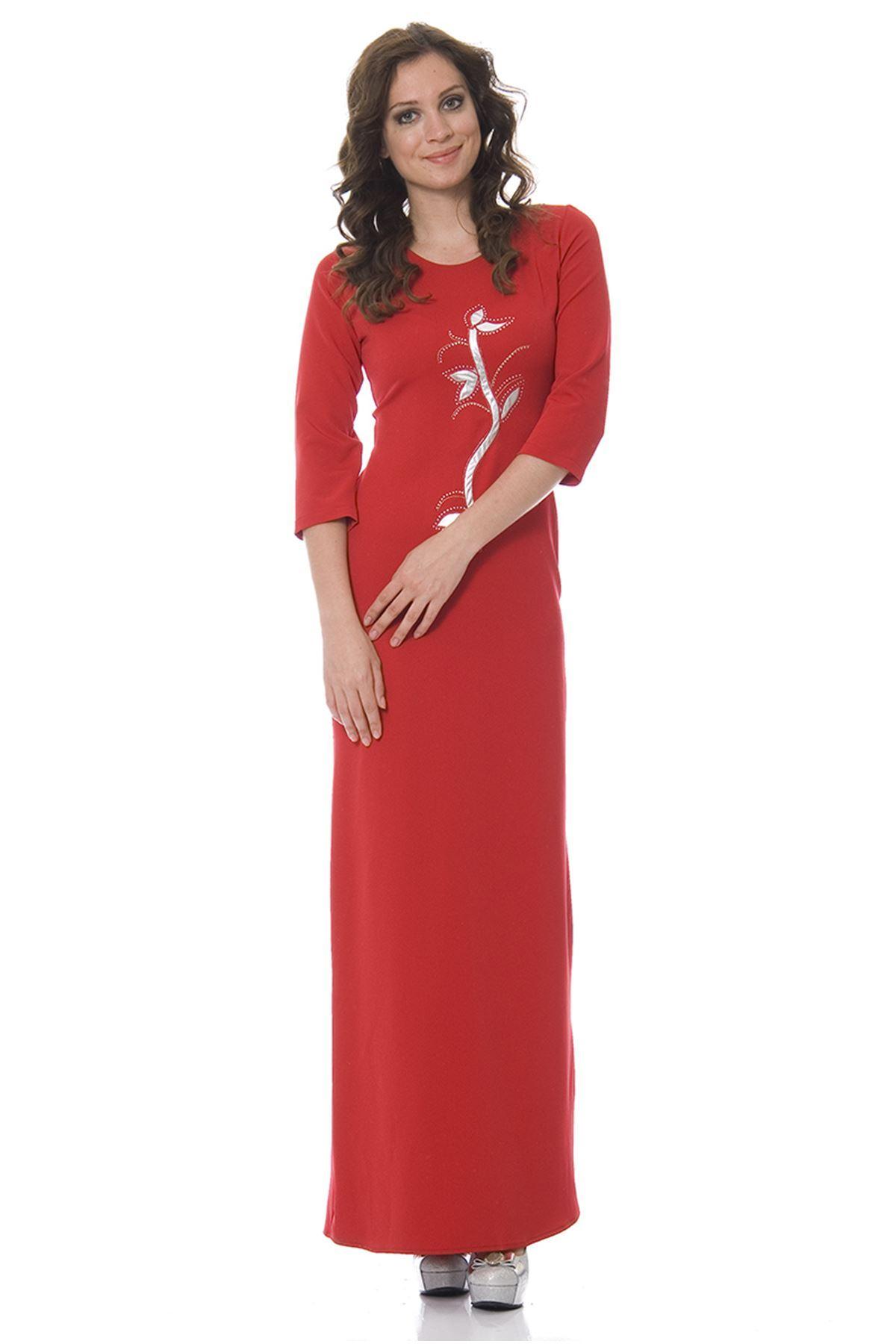 Kırmızı Elbise K7-83631