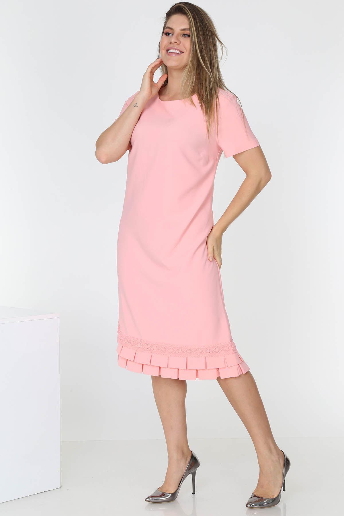 Kısakol Yazlık Elbise H3-0678