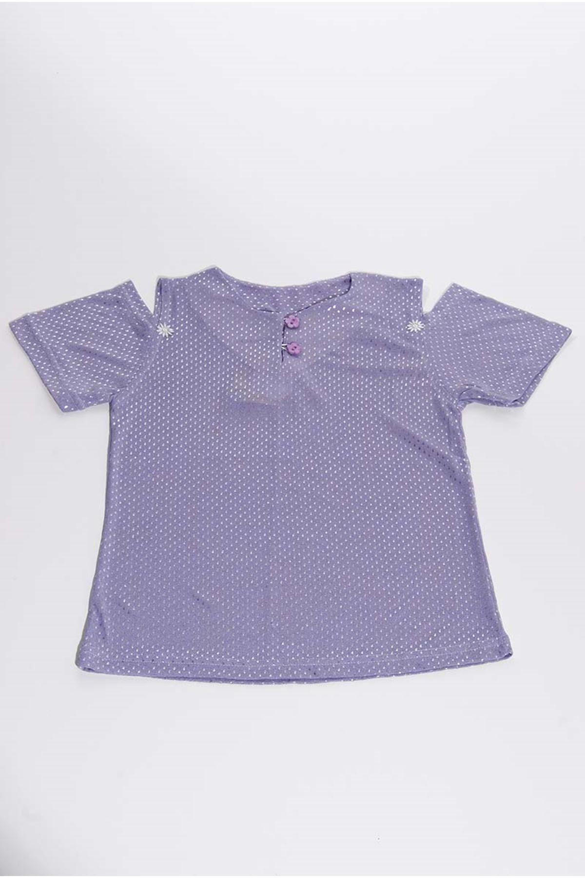Kız Çocuk Bluz 16B-4159