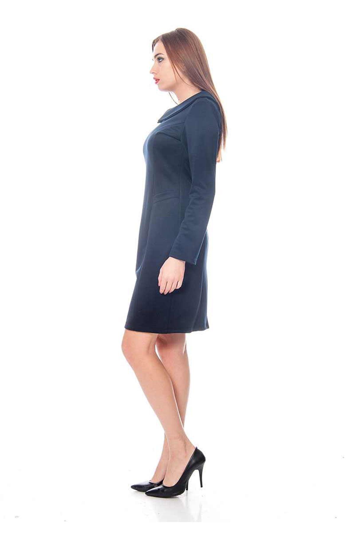 Lacivert Kadın Elbise G2-118936