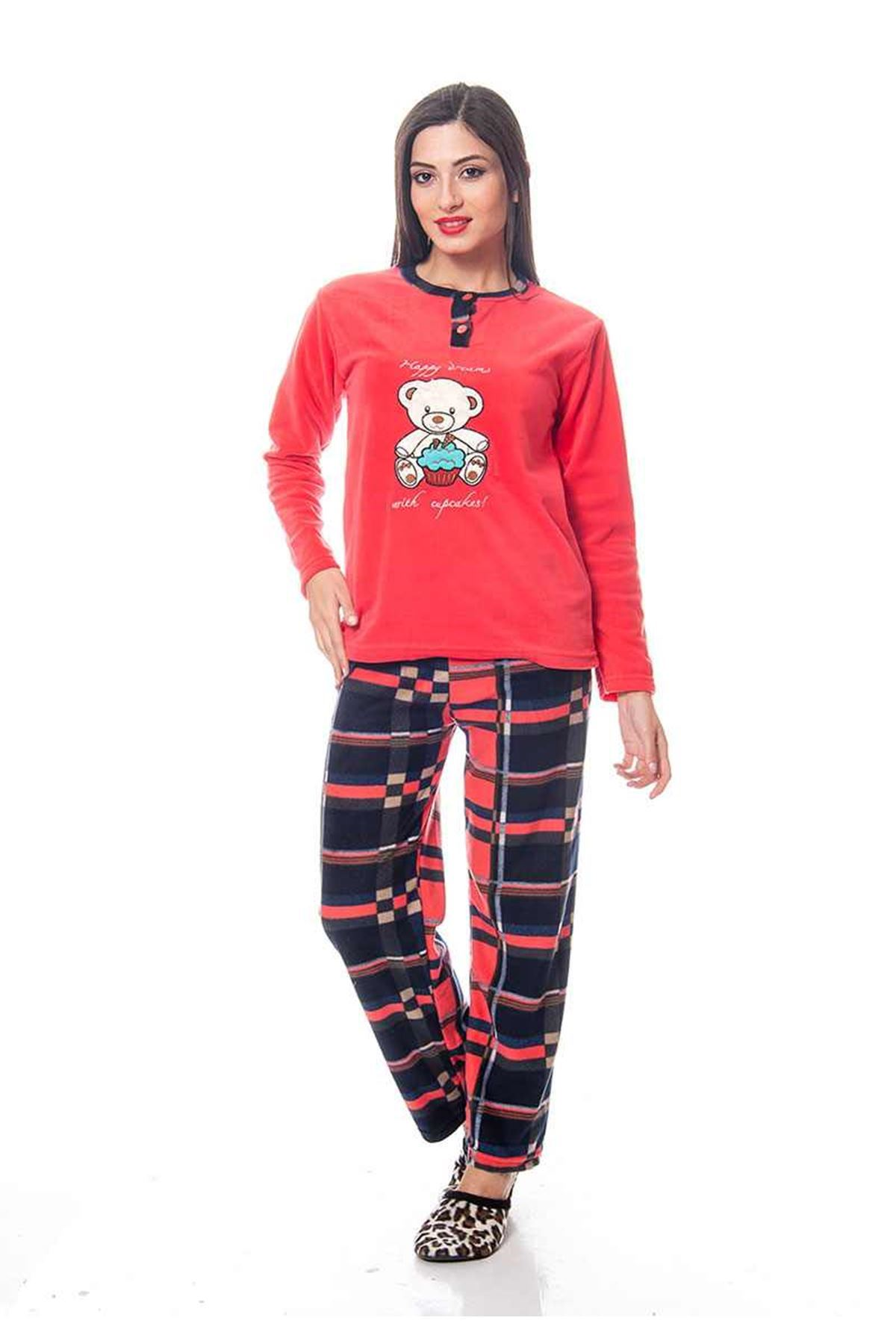 Mercan Polar Pijama Takımı 14C-118759