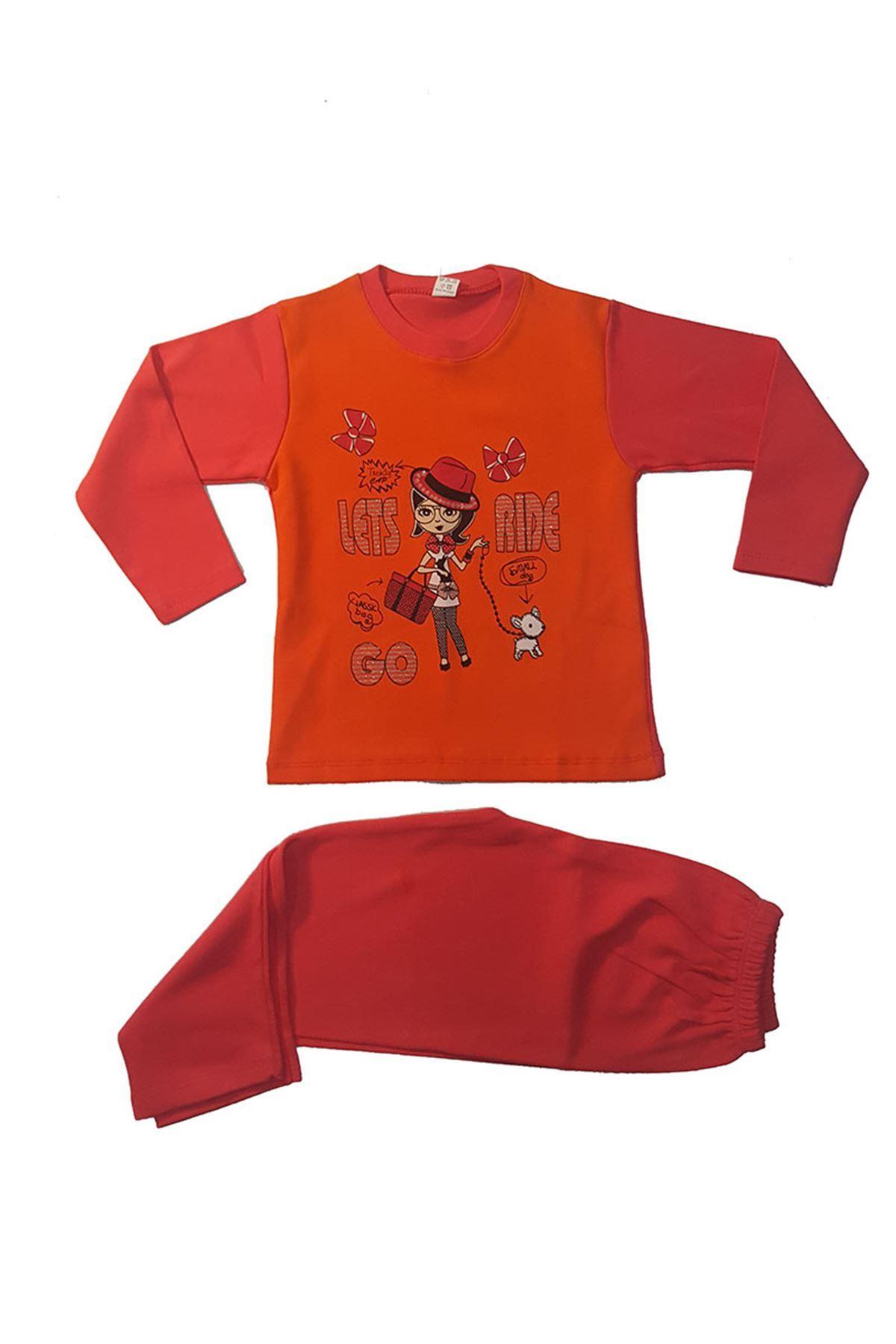 Oranj Pijama Takım 11B-12546