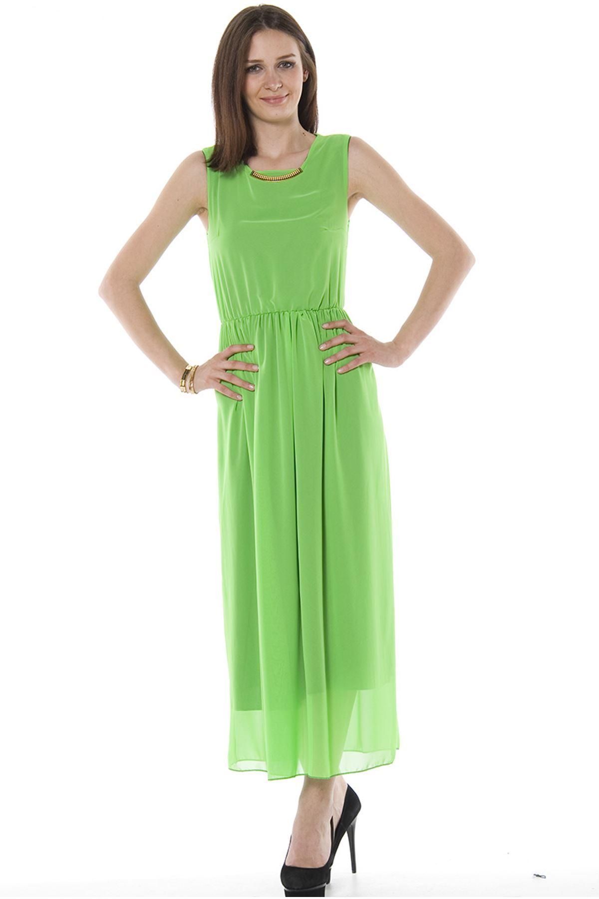 Neon Yeşili Uzun H1-74351