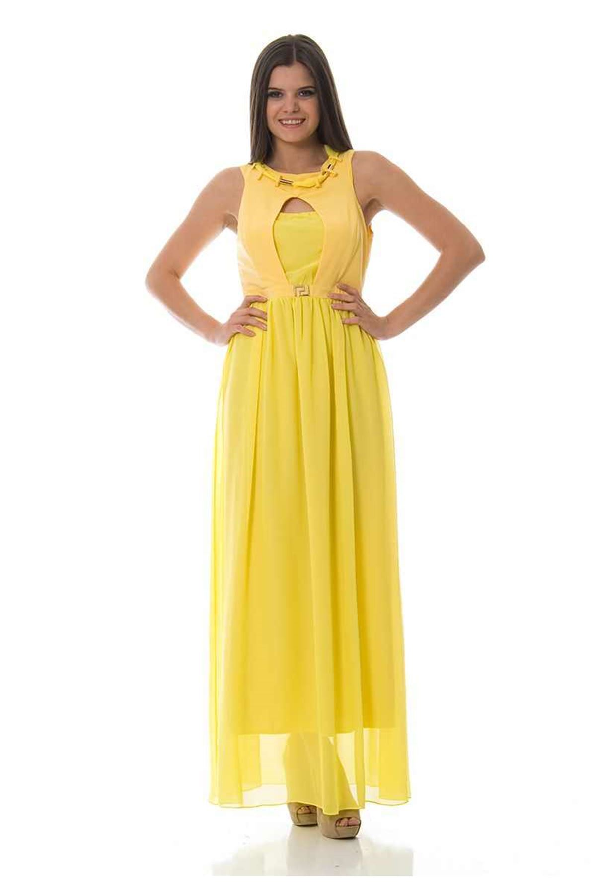 Sarı Dekolteli F1-87828