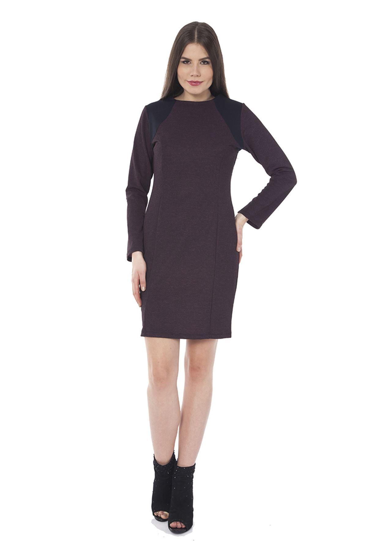 Uzun Kollu Elbise I6-0321