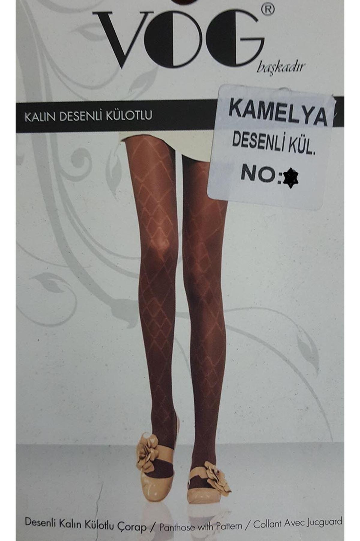 VOG Külotlu Çorap Kahverengi 18A-723K