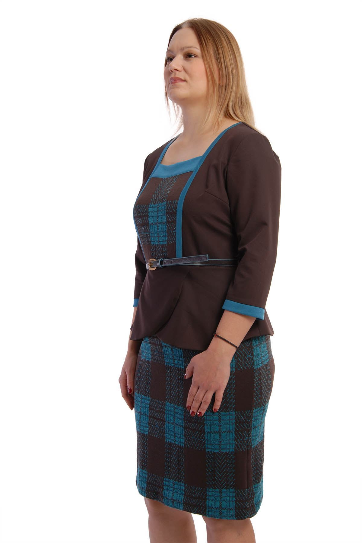 Volanlı Elbise G3-65086