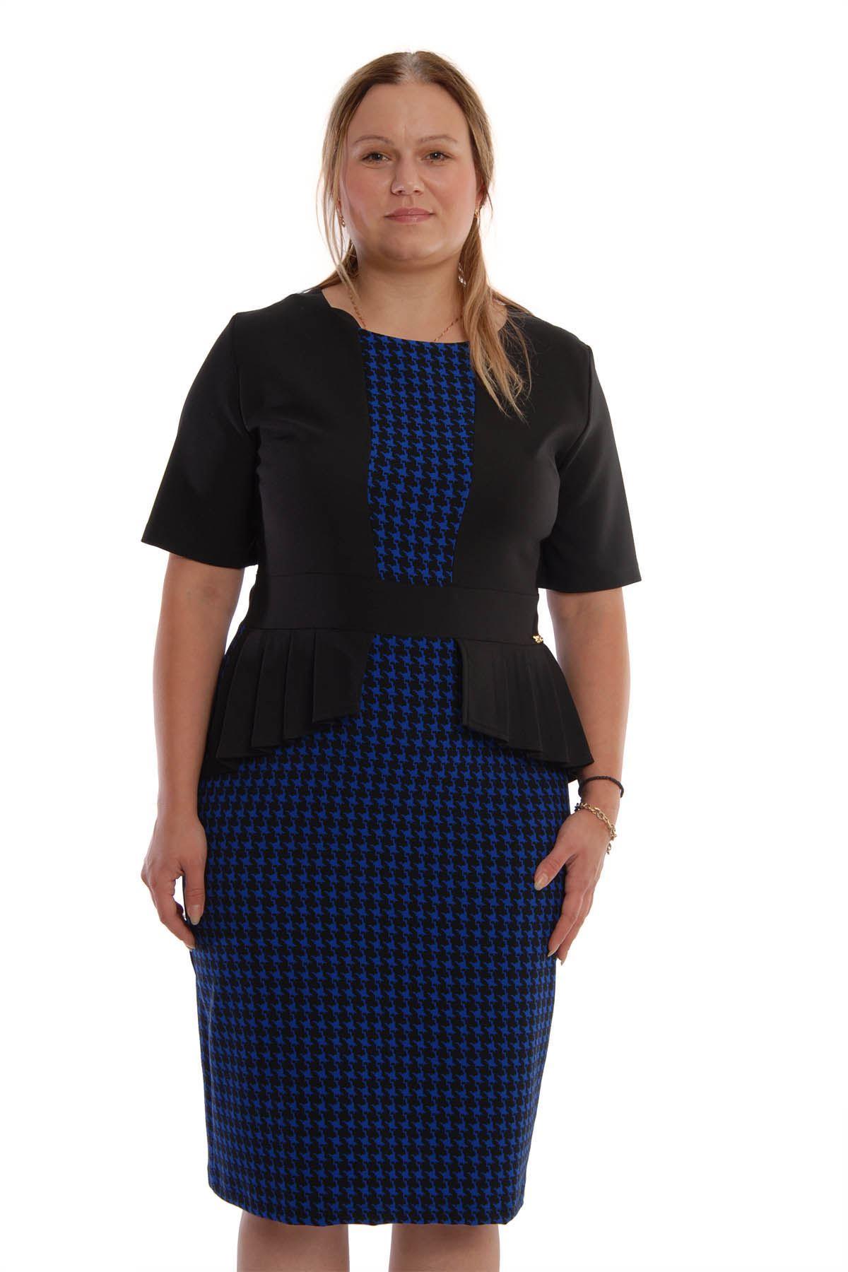 Volanlı Kazayağı Elbise K6-67980