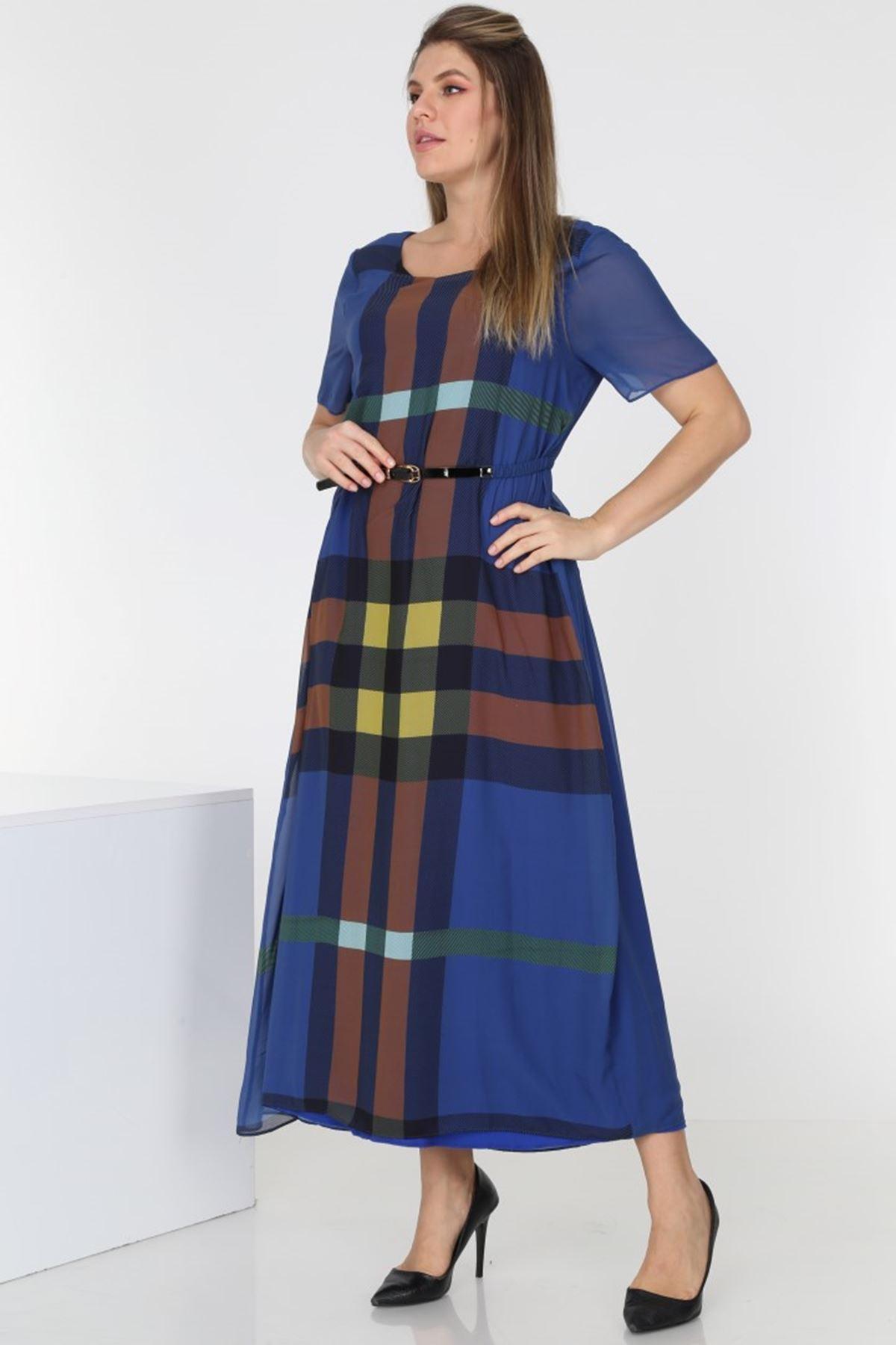 Yazlık Şifon Elbise 2C-0569