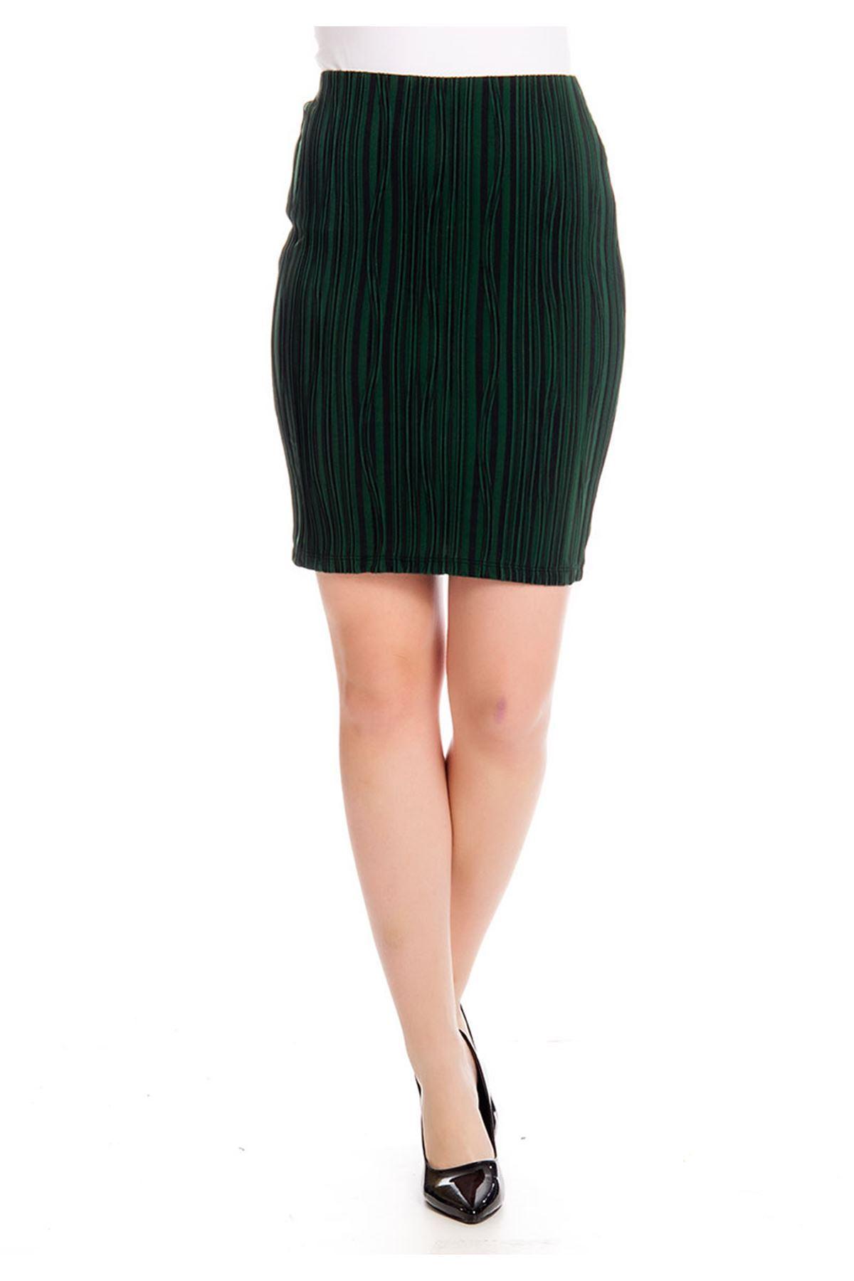 Yeşil Siyah Fitilli Ete17A-126303