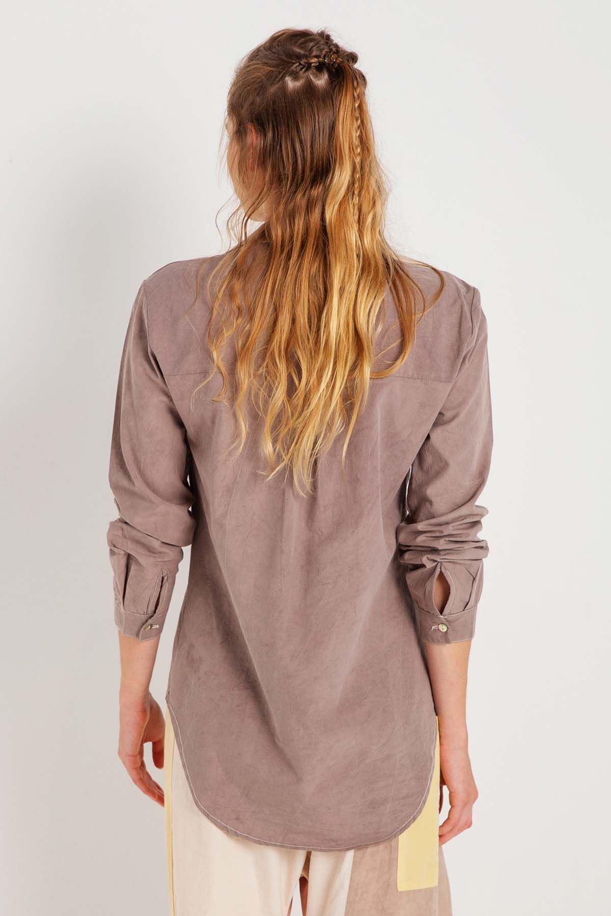 Zarif - Uzun Kollu Kadın Gömlek K0706