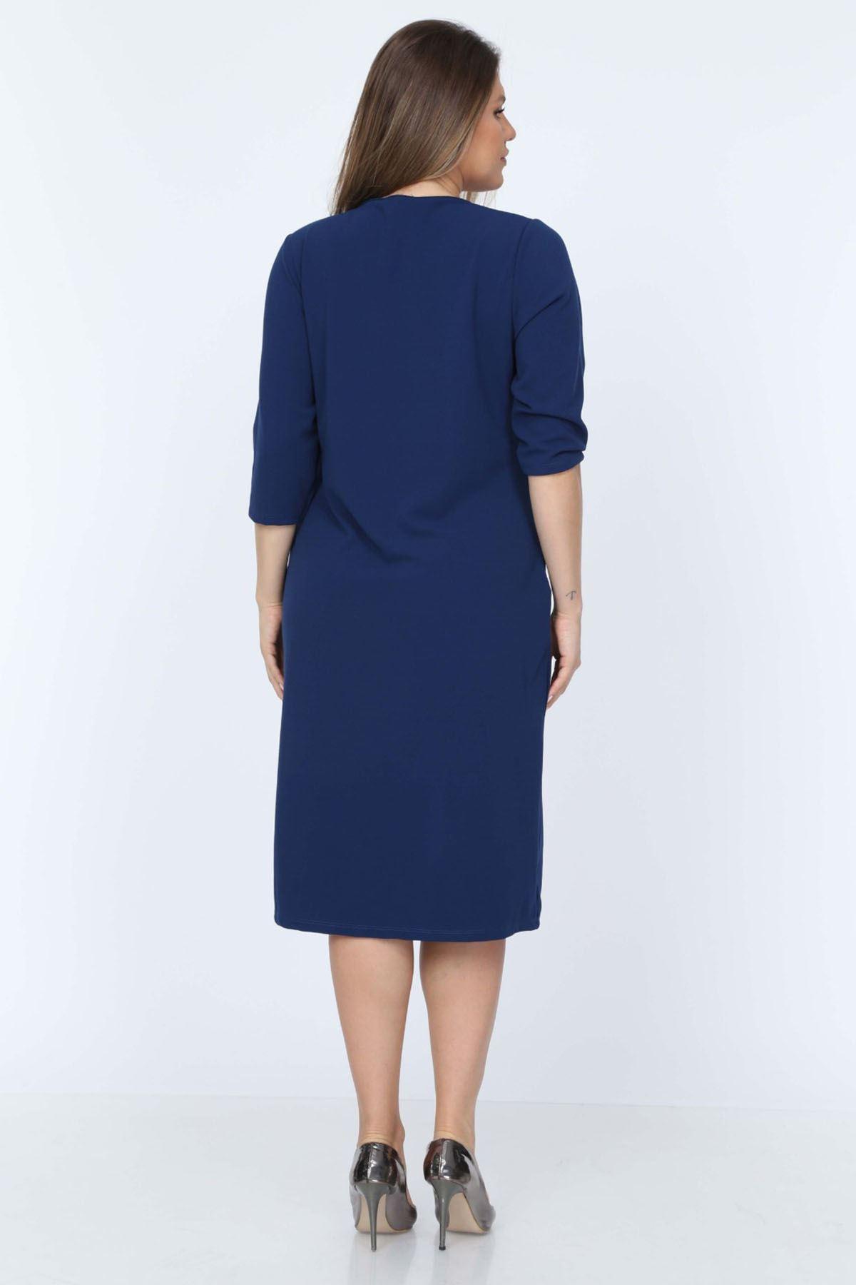 Cepli Lacivert Elbise 22C-0721