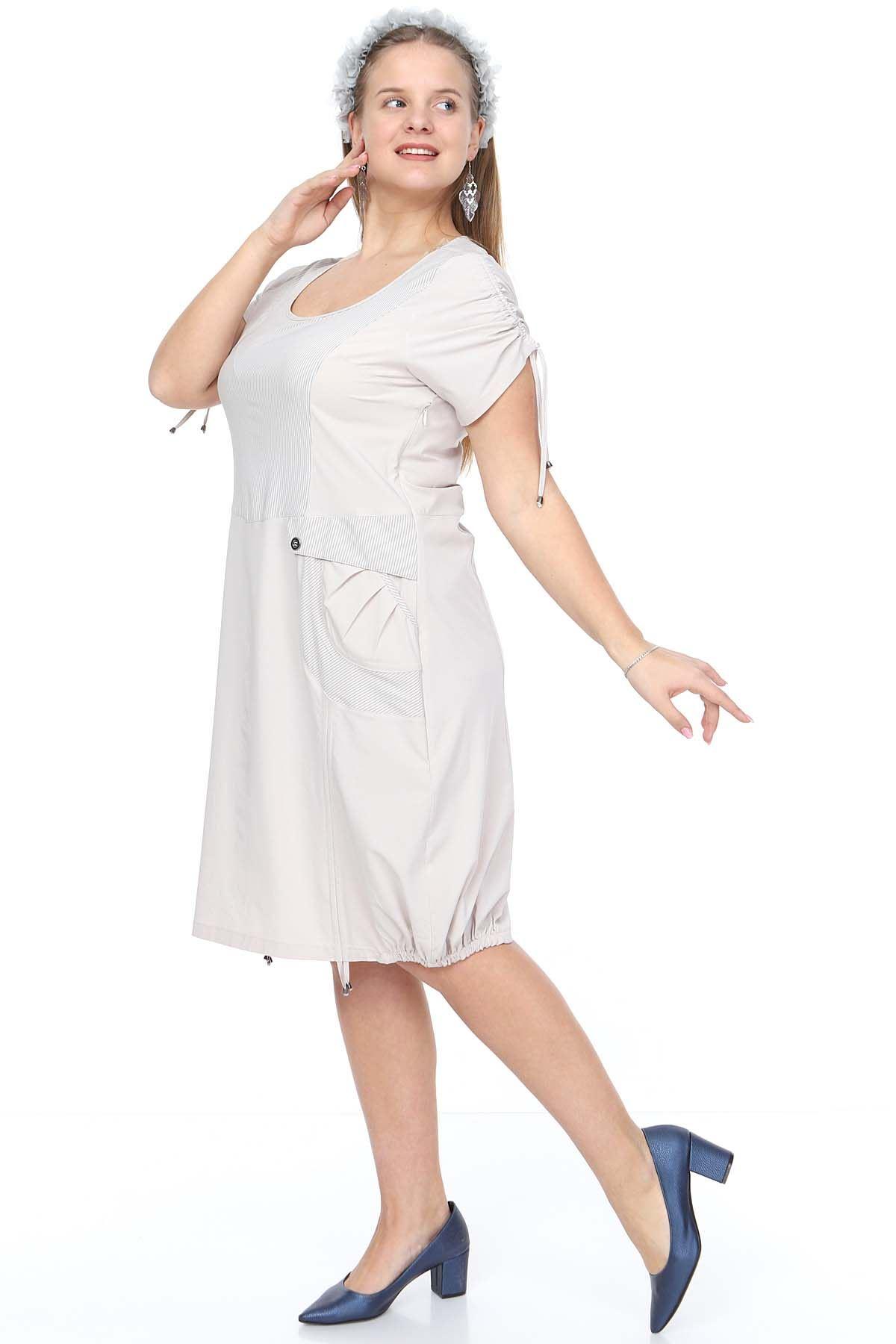 Yazlık Bağcıklı Elbise 18E-0919