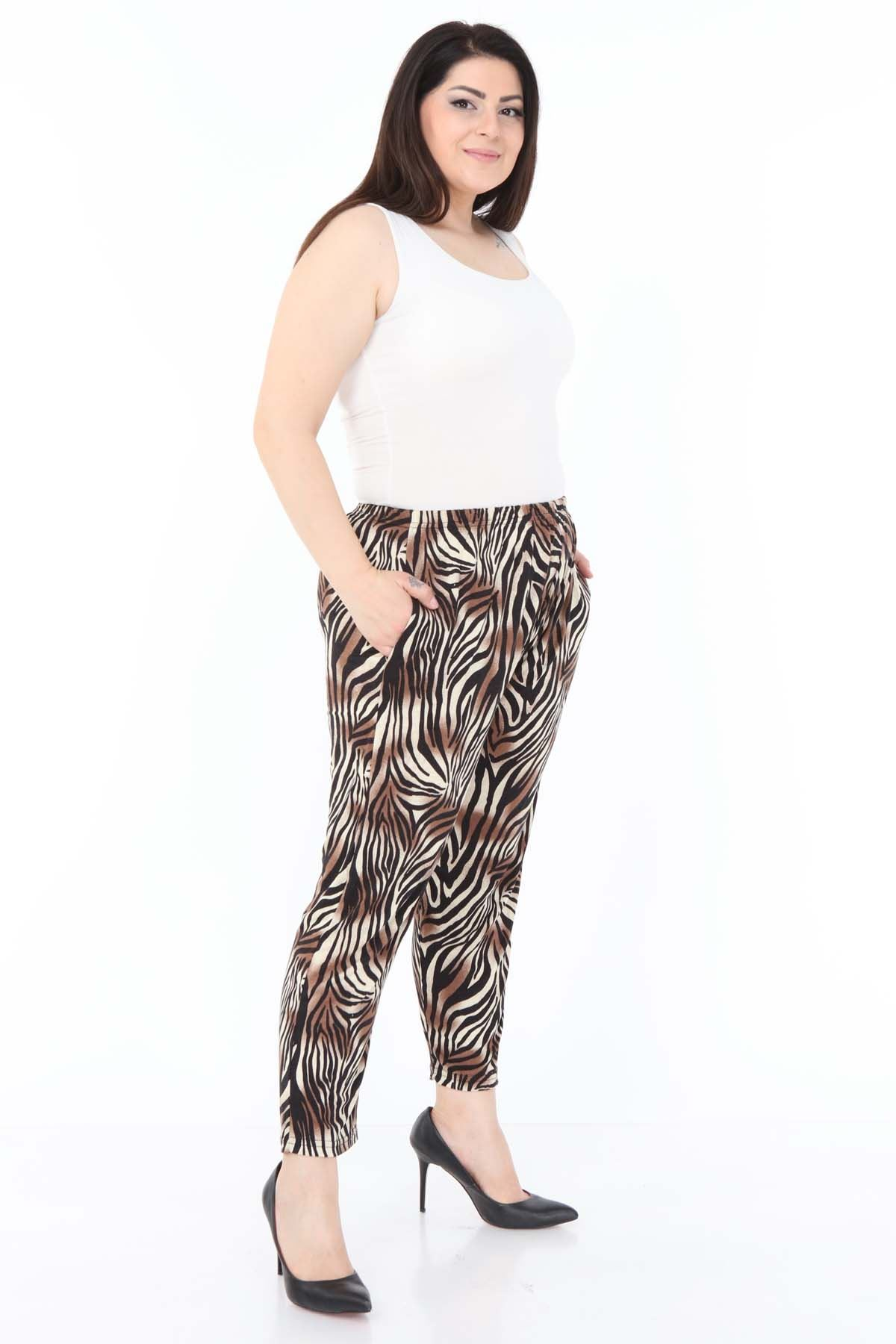 Zebra Esnek Pantolon 5A-0982