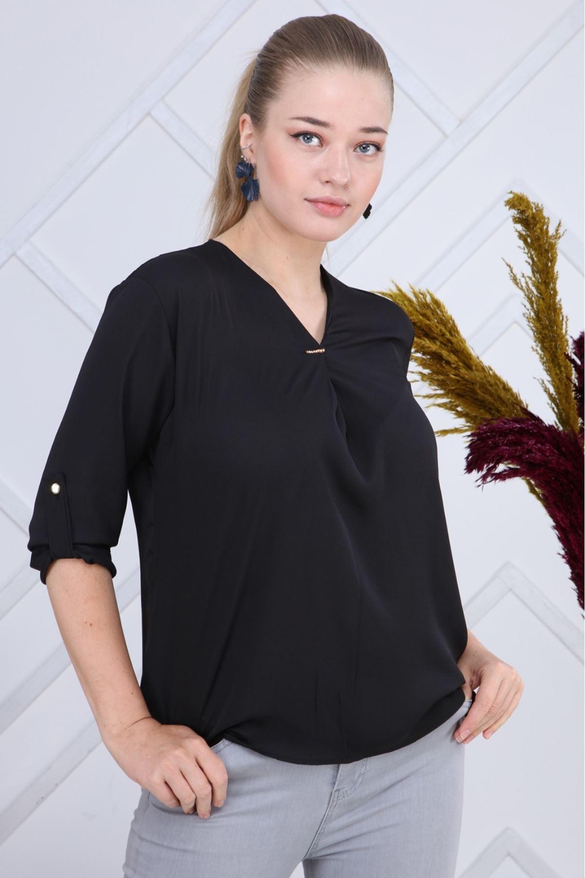 Siyah Bluz G6-1191