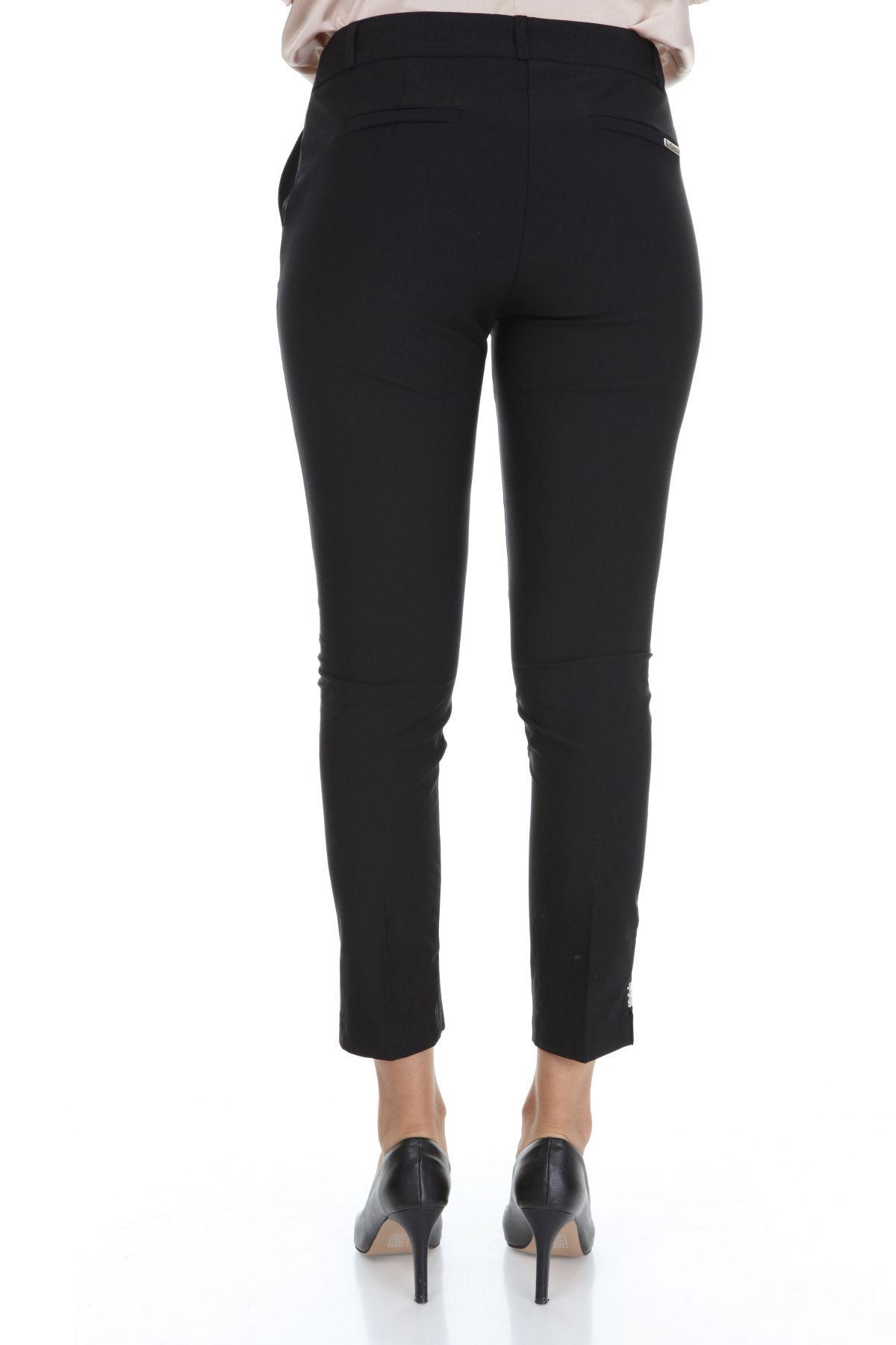 Siyah Büyük Beden Pantolon 30A-3547