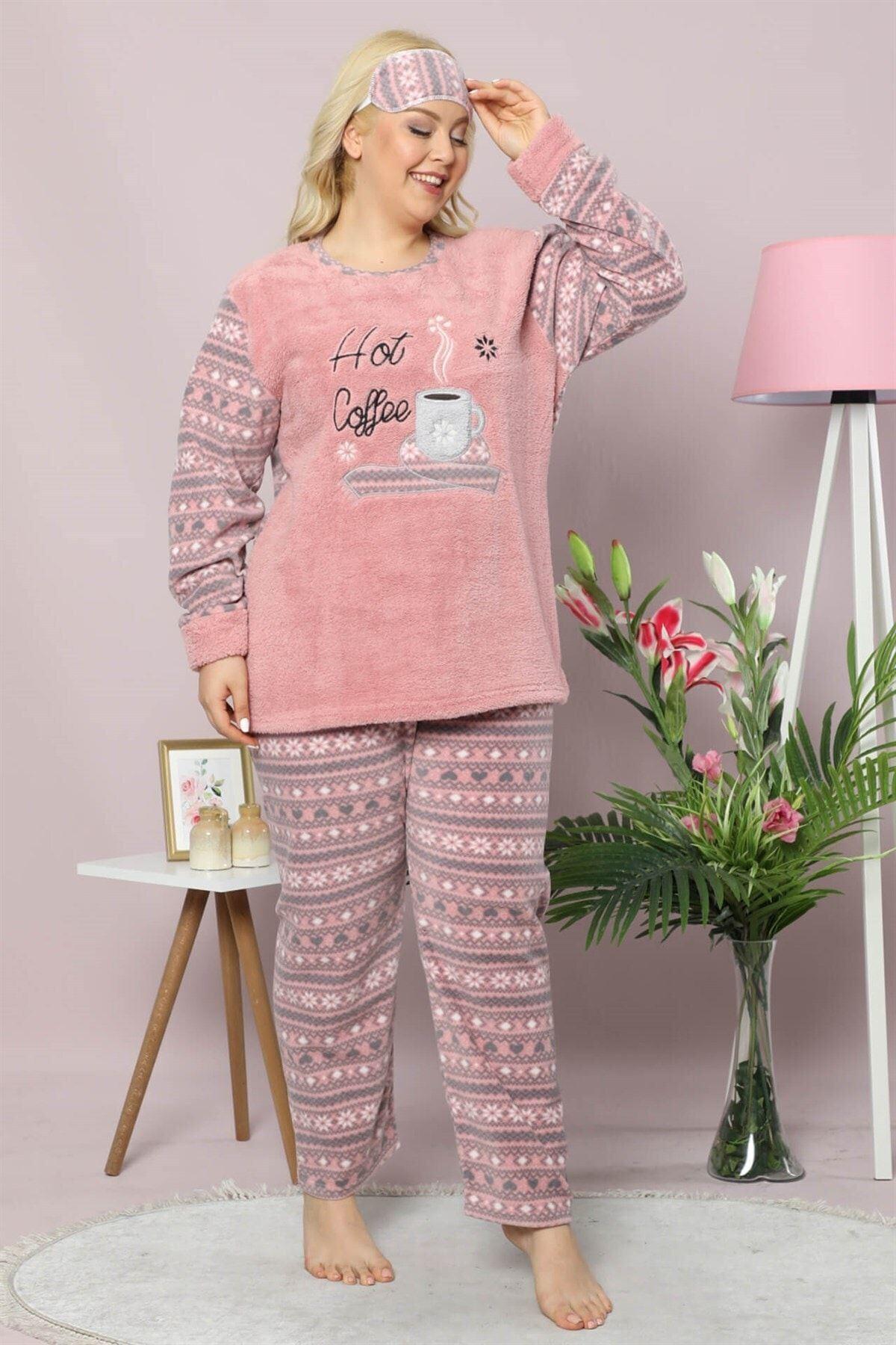Welsoft Polar Pijama Takımı 32C-9017