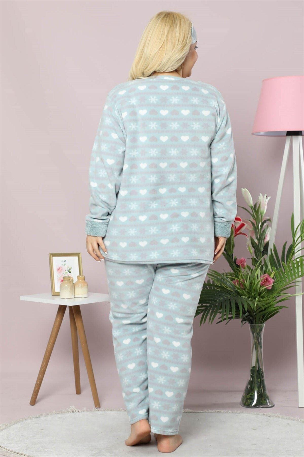Welsoft Polar Pijama Takımı 32C-9016