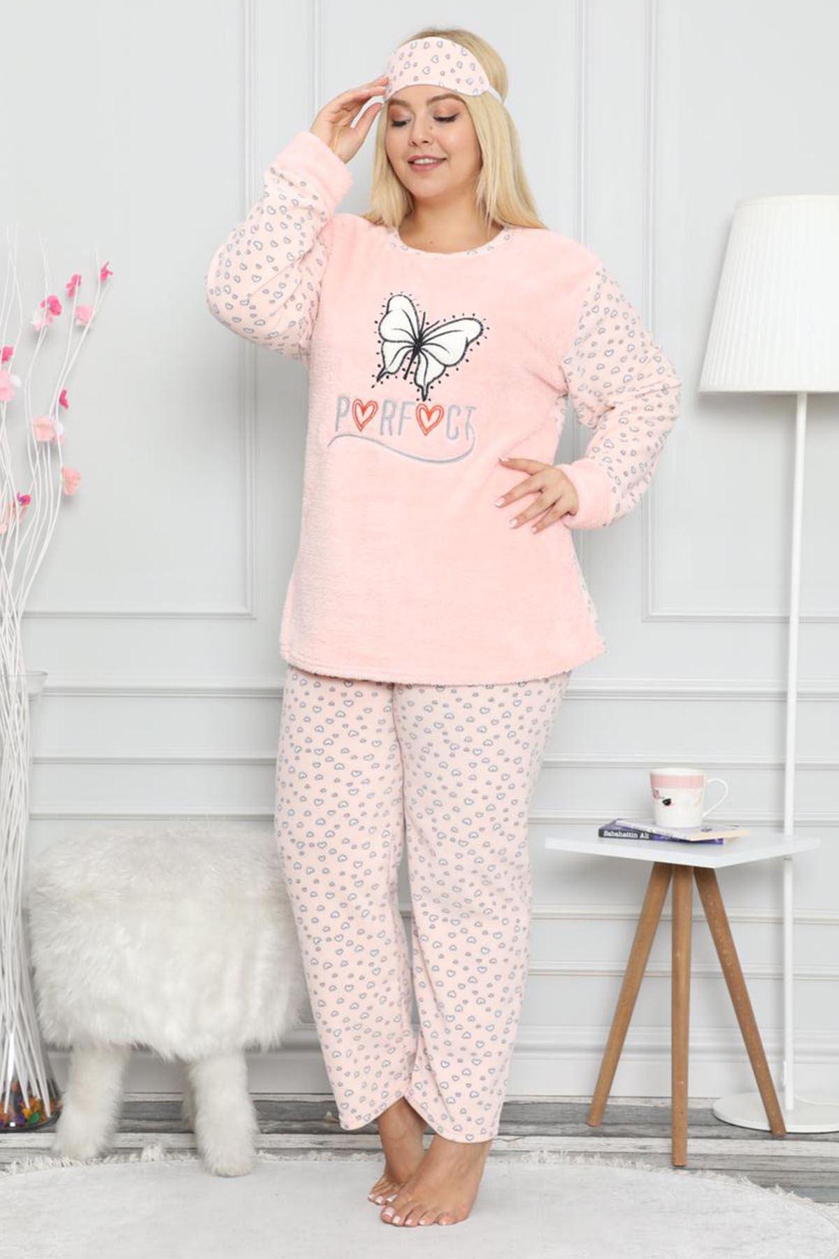 Welsoft Pembe Pijama Takımı 32D-9056P