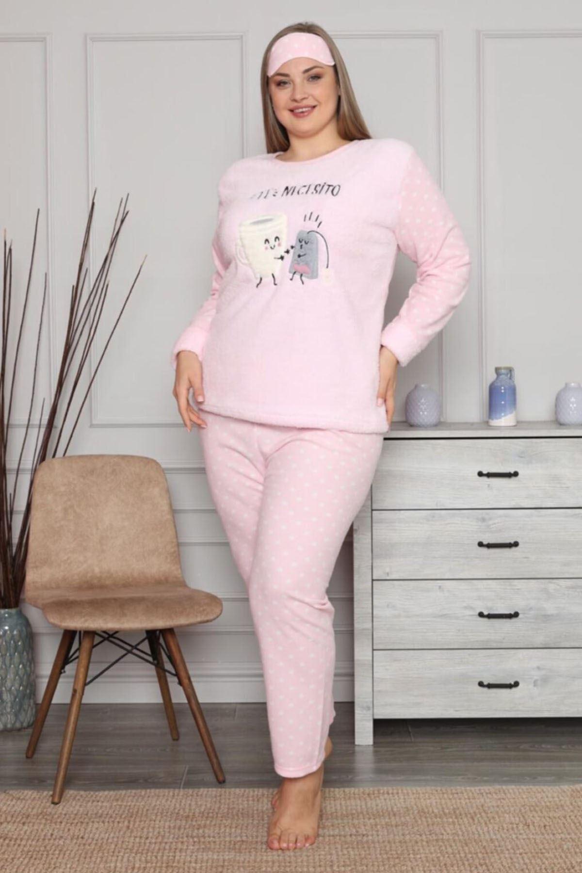 Welsoft Pembe Pijama Takımı 32D-1452