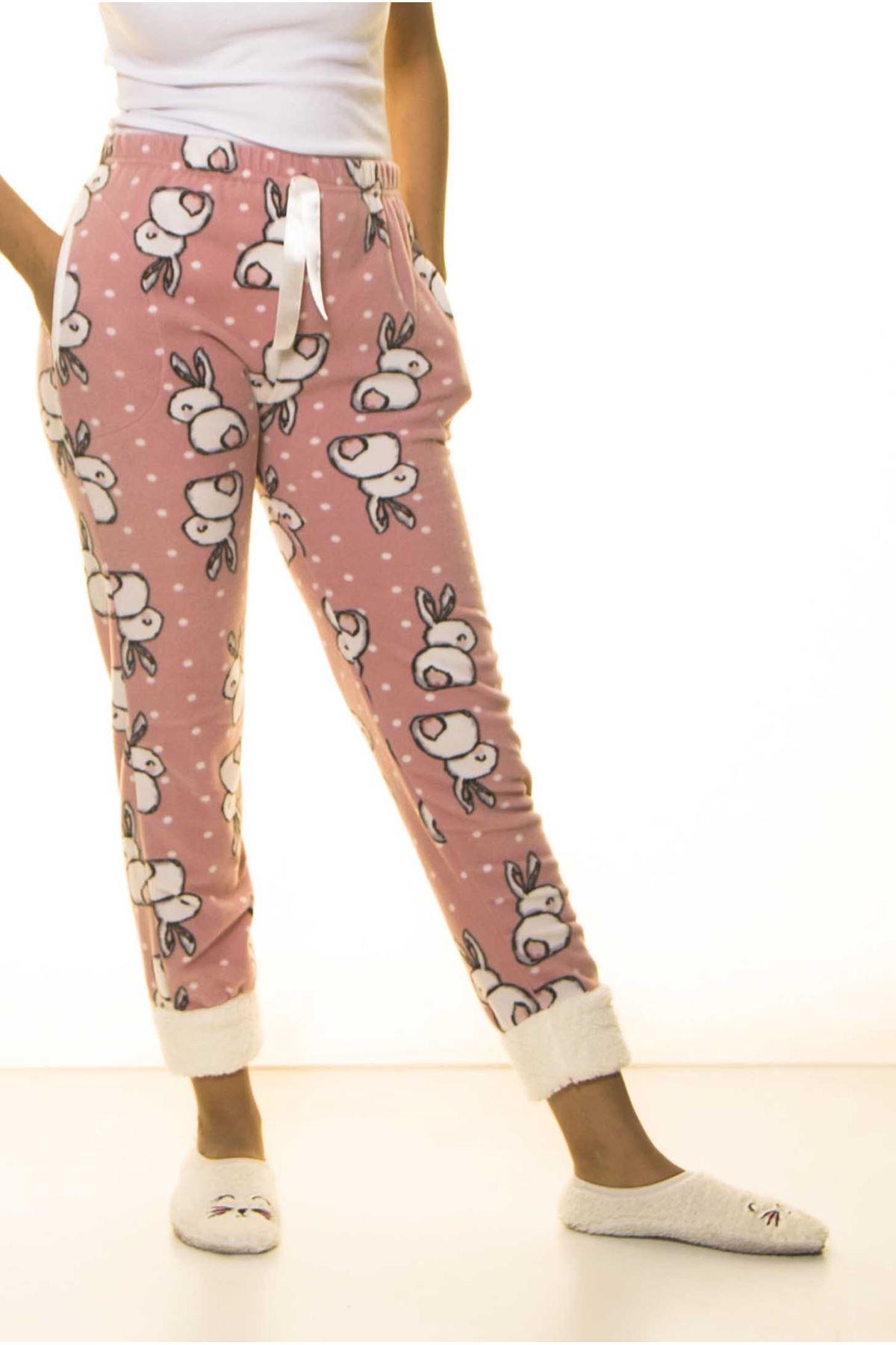 Kışlık Polar Pijama Altı 1B-1486