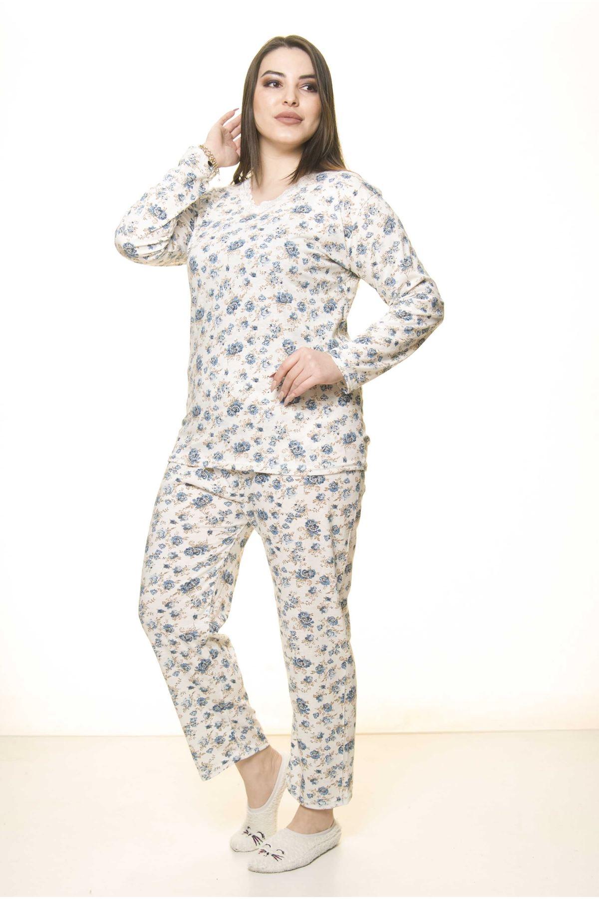 Geniş Kesim Pijama Takımı 31A-1558