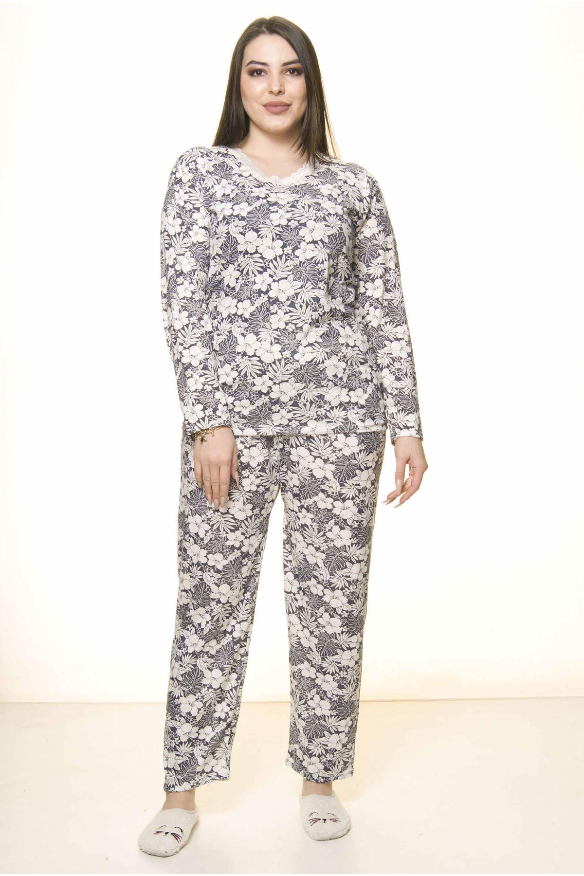 Geniş Kesim Pijama Takımı 31A-1561