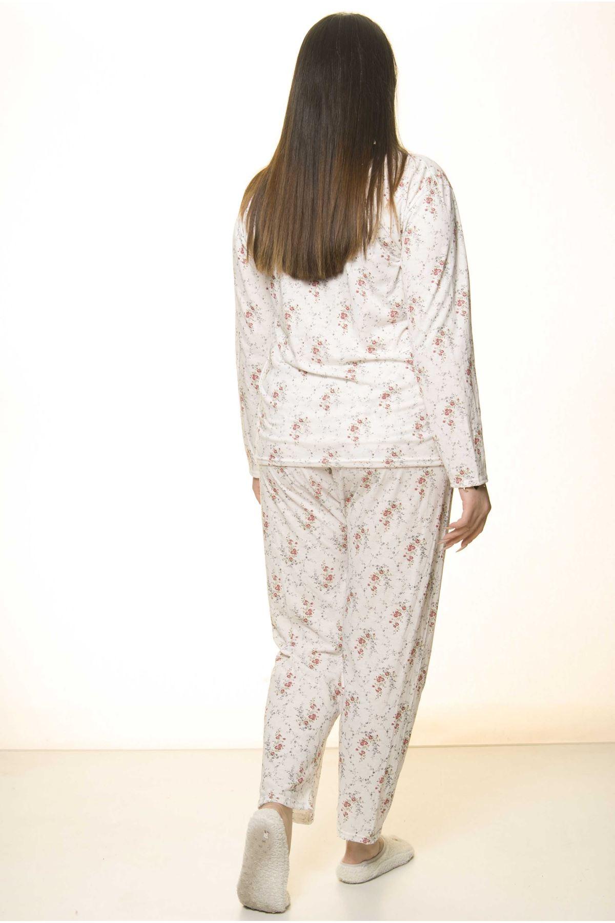 Geniş Kesim Pijama Takımı 31A-1563