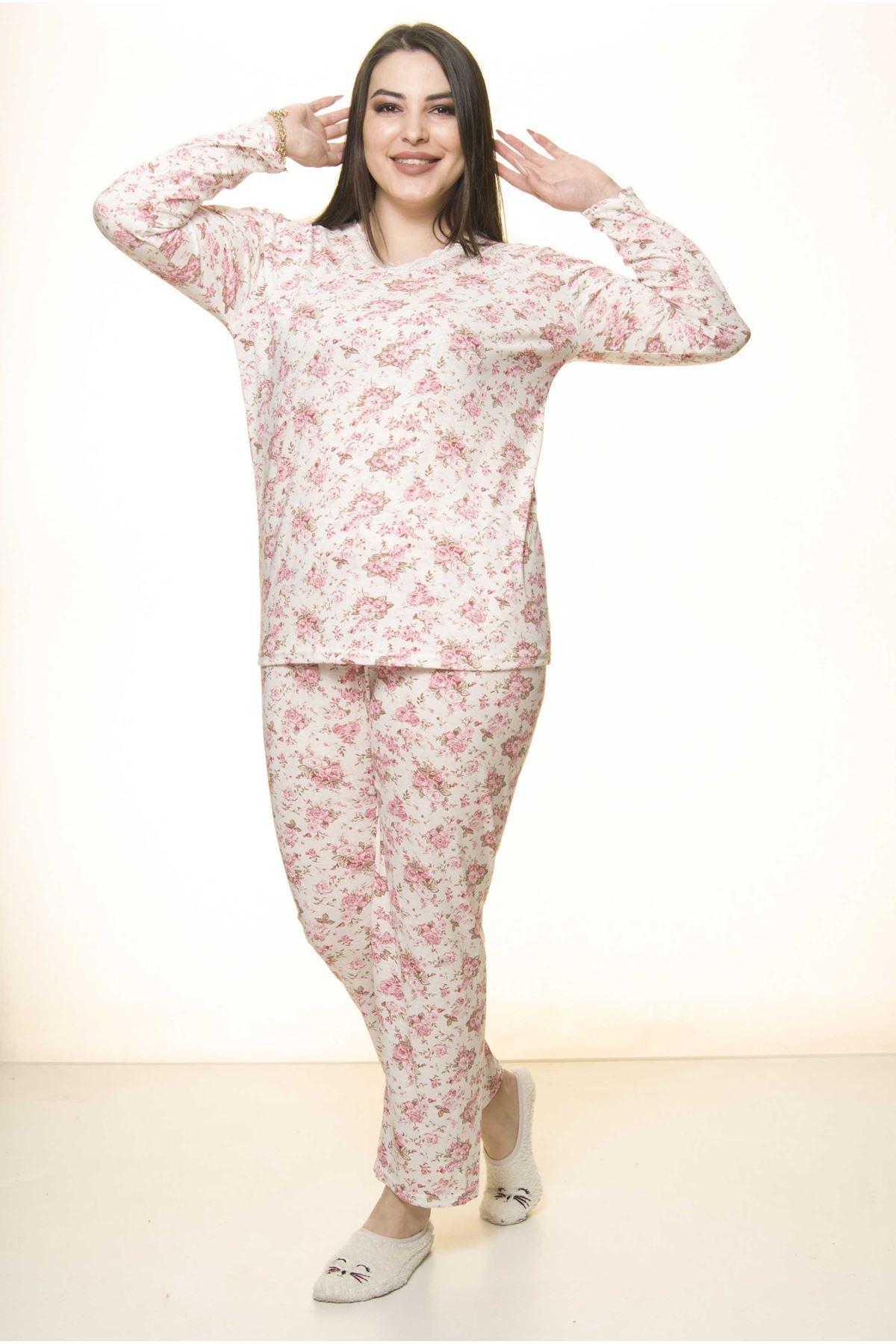 Geniş Kesim Pijama Takımı 31A-1557