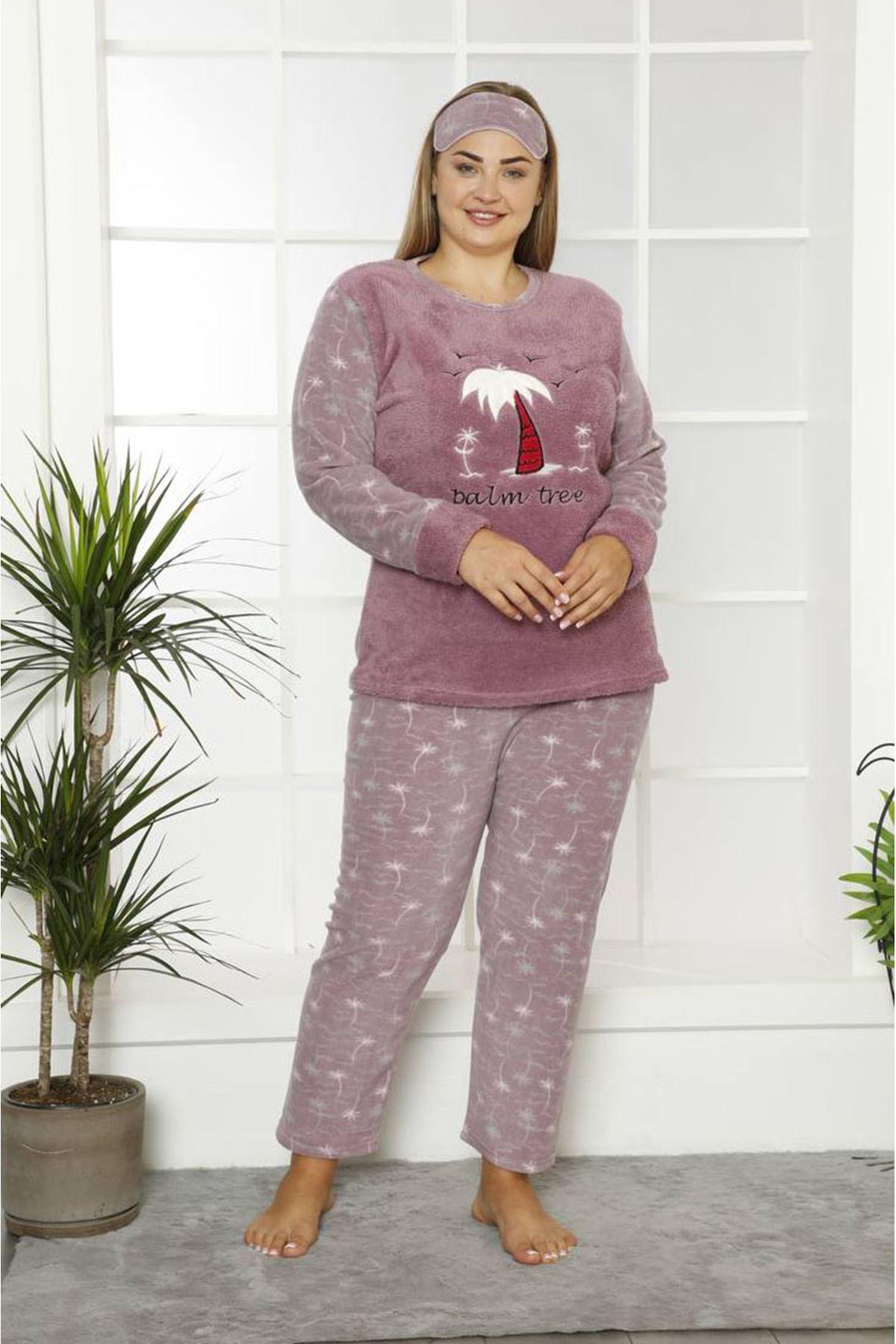 Welsoft Polar Büyük Beden Pijama Takımı 32C-1831